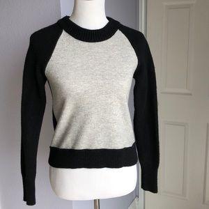 Rag and Bone JEAN Black and Gray Sweater